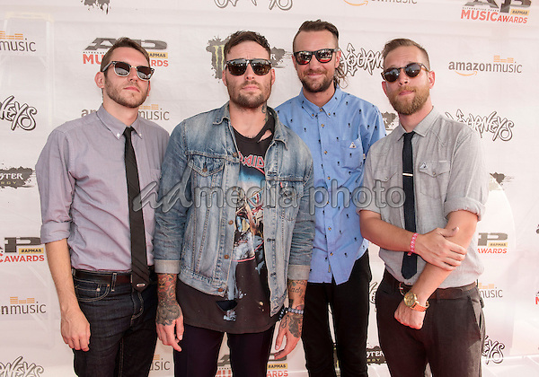 18 July 2016 - Columbus, Ohio - Members of the band Emarosa attend the Alternative Press Music Awards 2016 held at Jerome Schottenstein Center. Photo Credit: Jason L Nelson/AdMedia