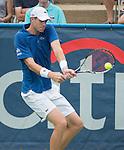 John Isner (USA) Defeats Alex Kuznetsov (USA) 7-6(2), 7-6(4)