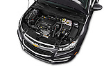 Car Stock 2016 Chevrolet Cruze-Limited 2LT-Auto 4 Door Sedan Engine  high angle detail view