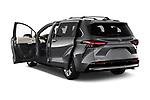 Car images of 2021 Toyota Sienna Platinum 5 Door Minivan Doors