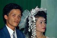 Brautpaar in Hoi An, Vietnam