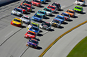 Monster Energy NASCAR Cup Series<br /> GEICO 500<br /> Talladega Superspeedway, Talladega, AL USA<br /> Sunday 7 May 2017<br /> Denny Hamlin, Joe Gibbs Racing, FedEx Express Toyota Camry<br /> World Copyright: Nigel Kinrade<br /> LAT Images<br /> ref: Digital Image 17TAL1nk06356