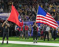 Houston, TX - Thursday December 27, 2018: Vanderbilt vs Baylor in the Texas Bowl at NRG Stadium.