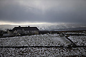03/02/16 <br /> <br /> Snow clouds pass over the village of Flash, in the Staffordshire Peak District.<br /> <br /> All Rights Reserved: F Stop Press Ltd. +44(0)1335 418365   +44 (0)7765 242650 www.fstoppress.com