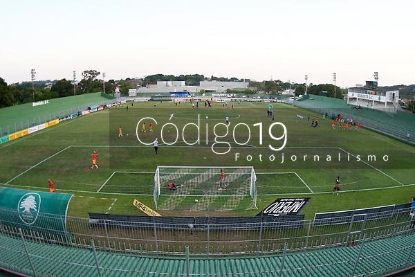 Saquarema (RJ), 28/03/2021 - Nova Iguaçu-Botafogo - Estádio Elccyr Resende,durante partida  Nova Iguaçu x Botafogo,válida pela 6ª rodada da Taça Guanabara,realizada no Estádio Elccyr Resende,distrito de Bacaxá,Saquarema (RJ),neste domingo (28).