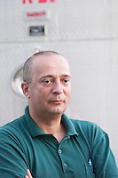 Daniel Lay manager from the winery. Hercegovina Produkt winery, Citluk, near Mostar. Federation Bosne i Hercegovine. Bosnia Herzegovina, Europe.