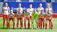 players of  Zulte Waregem with Romy Camps , Pauline Windels , Summer Rogiers , Lotte De Wilde , Ella Vierendeels , Julie Devos , Amber De Priester , Sheryl Merchiers , Ianthe Meerschaert , Liesa Capiau and Laura Vervacke  pictured posing for the teampicture during a female soccer game between  Racing Genk Ladies and SV Zulte-Waregem on the 18 th and last matchday before the play offs of the 2020 - 2021 season of Belgian Scooore Womens Super League , saturday 27 th of March 2021  in Genk , Belgium . PHOTO SPORTPIX.BE | SPP | JILL DELSAUX