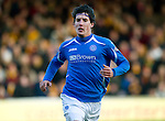 Motherwell v St Johnstone...28.01.12  .Fran Sandaza.Picture by Graeme Hart..Copyright Perthshire Picture Agency.Tel: 01738 623350  Mobile: 07990 594431