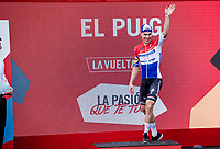 Dutch Champion Fabio Jakobsen (NED/Deceuninck - QuickStep) wins the stage 4 bunch sprint <br /> <br /> Stage 4: Cullera to El Puig (175km)<br /> La Vuelta 2019<br /> <br /> ©kramon