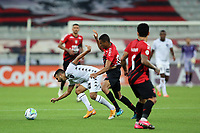 9th September 2020; Arena da Baixada, Curitiba, Brazil; Brazilian Serie A, Athletico Paranaense versus Botafogo; Erick of Athletico Paranaense and Caio Alexandre of Botafogo