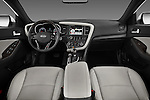 Straight dashboard view of a 2013 Kia Optima SXL