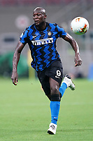 Romelu Lukaku of FC Internazionale in action during the Serie A football match between FC Internazionale and SSC Napoli at San Siro stadium in Milano (Italy), July 28th, 2020. Play resumes behind closed doors following the outbreak of the coronavirus disease. Photo Marco Canoniero / Insidefoto