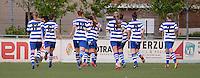 AA Gent - Telstar :<br /> <br /> de speelsters van AA Gent vieren de gelijkmaker van Jassina Blom<br /> <br /> foto Dirk Vuylsteke / Nikonpro.be