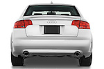 Straight rear view of a 2005 - 2008 Audi A4 3.2 Sedan.