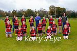 Killarney Rugby u16 ladies team at training on Saturday