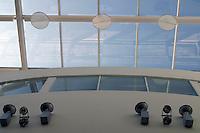 Glass roof, University of Surrey.