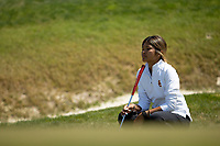 STANFORD, CA - APRIL 23: Brianna Navarrosa at Stanford Golf Course on April 23, 2021 in Stanford, California.
