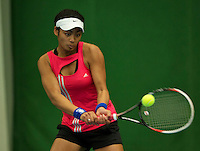 Almere, Netherlands, December 6, 2015, Winter Youth Circuit, Dainah Cameron (NED)<br /> Photo: Tennisimages/Henk Koster