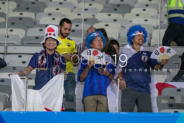 BELO HORIZONTE, MG, 24.06.2019-COPA AMÉRICA- partida entre Equador e Japão, válida pela terceira rodada do Grupo C da Copa América 2019, no Estádio Mineirão em Belo Horizonte, MG, na noite desta segunda feira(24)(foto Giazi Cavalcante/Código19)
