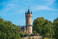 Flatow-Turm, Park Babelsberg, UNSECO Weltkulturerbe,  Babelsberg, Potsdam, Brandenburg, Deutschland