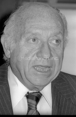 Jacob Javits 1978<br /> Photo By Adam Scull/PHOTOlink/MediaPunch