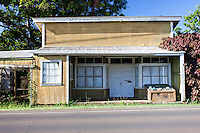 An old building in Hawi, Big Island.