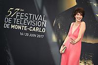 PHOTOCALL LINDA HARDY - 57ème Festival de la Television de Monte-Carlo. Monte-Carlo, Monaco, 19/06/2017.