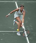 April 4,2018:  Kristyna Pliskova (CZE) defeated Petra Kvitova (CZE) 1-6, 6-1, 6-3, at the Volvo Car Open being played at Family Circle Tennis Center in Charleston, South Carolina.  ©Leslie Billman/Tennisclix/CSM