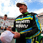 Mar 21, 2009; 5:34:54 PM; Bristol, Tn., USA; NASCAR Legends race for the Scotts Saturday Night Special at the Bristol Motor Speedway.  Mandatory Credit: (thesportswire.net)