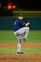Toledo Mud Hens relief pitcher Mike Zagurski (54) during a game against the Indianapolis Indians on May 2, 2017 at Victory Field in Indianapolis, Indiana.  Indianapolis defeated Toledo 9-2.  (Mike Janes/Four Seam Images)
