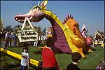 Rose Parade Float, Pasadena, 1983