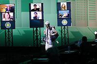 Rotterdam, The Netherlands, 28 Februari 2021, ABNAMRO World Tennis Tournament, Ahoy, First round match: Robin Haase (NED) vs. Andy Murray (GBR).<br /> Photo: www.tennisimages.com/henkkoster