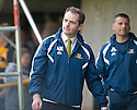 08/05/2010   Copyright  Pic : James Stewart.sct_js011_alloa_v_cowdenbeath  .::  ALLOA BOSS ALAN MAITLAND WATCHES HIS SIDE LOSE THE PLAY OFF SEMI FINAL   ::  .James Stewart Photography 19 Carronlea Drive, Falkirk. FK2 8DN      Vat Reg No. 607 6932 25.Telephone      : +44 (0)1324 570291 .Mobile              : +44 (0)7721 416997.E-mail  :  jim@jspa.co.uk.If you require further information then contact Jim Stewart on any of the numbers above.........