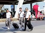 220619 Rangers arrive in Portugal