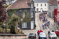 peloton starting their climb up the Alsemberg<br /> <br /> 60th De Brabantse Pijl 2020 - La Flèche Brabançonne (1.Pro)<br /> 1 day race from Leuven to Overijse (BEL/197km)<br /> <br /> ©kramon