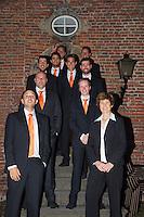 11-sept.-2013,Netherlands, Groningen,  Martini Plaza, Tennis, DavisCup Netherlands-Austria, Team   <br /> Photo: Henk Koster