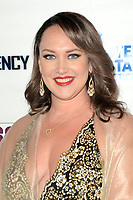 """LOS ANGELES - AUG 11:  Caroline Hatfield at """"Final Frequency"""" Screening & Red Carpet at Laemmle Town Center on August 11, 2021 in Encino, CA"""