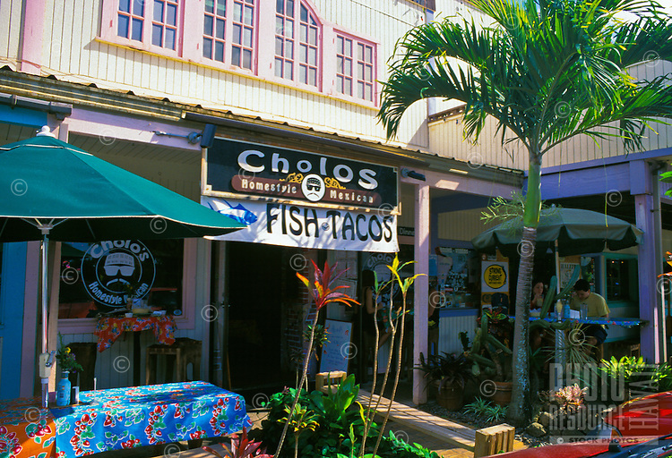 Cholos Mexican Restaurant offers diners authentic mexican cuisine.  Located in the Northshore Marketplace in the north shore town of Haleiwa.