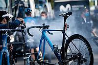 post race clean<br /> <br /> 106th Liège-Bastogne-Liège 2020 (1.UWT)<br /> 1 day race from Liège to Liège (257km)<br /> <br /> ©kramon