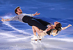 14.12.2014 Barcelona. Spain. ISU Grand Prix of Figure Skating Final 2014.Picture show Sara Hurtado and Adria Diaz in action during Gala Exhibition
