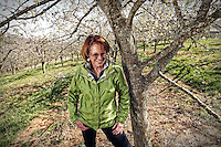 Diane Flynt is the owner of Foggy Ridge Cider located in Dugspur, Virginia. Photo/Andrew Shurtleff
