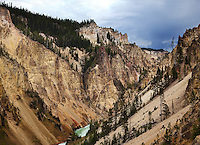 The Grand Canyon of Yellowstone National Park.