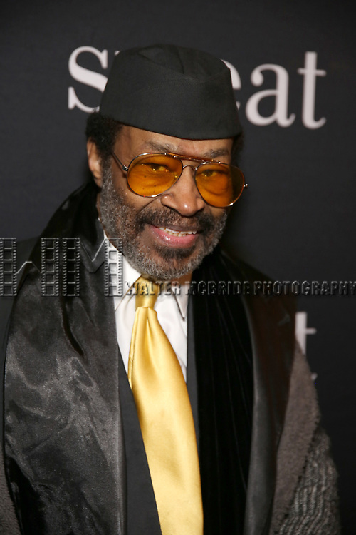 """Anthony Chisholm attends the Broadway Production of  """"Sweat"""" at studio 54 Theatre on March 26, 2017 in New York City"""