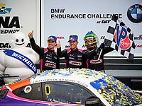 Winners #35 Riley Motorsports Mercedes-AMG GT GT4, GS: James Cox, Dylan Murry, Jeroen Bleekemolen, podium