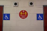 3rd October 2020; Riverside Stadium, Middlesbrough, Cleveland, England; English Football League Championship Football, Middlesbrough versus Barnsley; Corona Virus restrictions inside the stadium