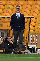 Fulham manager Scott Parker <br /> <br /> Photographer David Horton/CameraSport<br /> <br /> The Premier League - Wolverhampton Wanderers v Fulham - Sunday 4th October 2020 - Molineux Stadium - Wolverhampton<br /> <br /> World Copyright © 2020 CameraSport. All rights reserved. 43 Linden Ave. Countesthorpe. Leicester. England. LE8 5PG - Tel: +44 (0) 116 277 4147 - admin@camerasport.com - www.camerasport.com