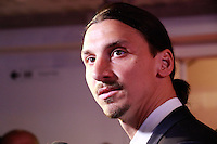 ZLATAN IBRAHIMOVIC elu Meilleur Joueur de ligue 1- 25eme Ceremonie des Trophees UNFP au Pavillon Gabriel