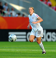 Rachel Buehler of team USA during the FIFA Women's World Cup at the FIFA Stadium in Dresden, Germany on June 28th, 2011.
