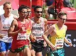 Guillaume Ouellet, Tokyo 2020 - Para Athletics // Para-athlétisme.<br /> Guillaume Ouellet competes in the men's 5000m T13 race // Guillaume Ouellet participe au 5000m T13 masculin. 28/08/2021.