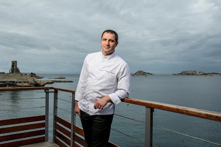 Vincent Peinado - Chef restaurant Péron - Marseille